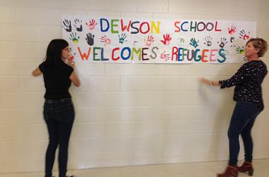 Dewson School Welcomes Refugees